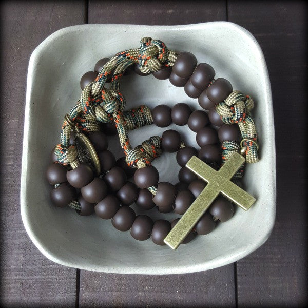 x- Mountain Man Rosary for Mel