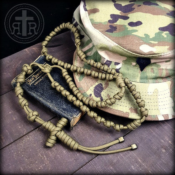 z- Custom Knotted Combat Rosaries x 3 for Leah