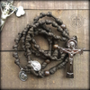 y- Knotted Combat Paracord Rosary Samples