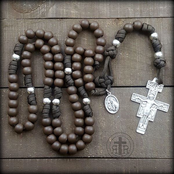 z- Custom Franciscan Rosary for Tony S