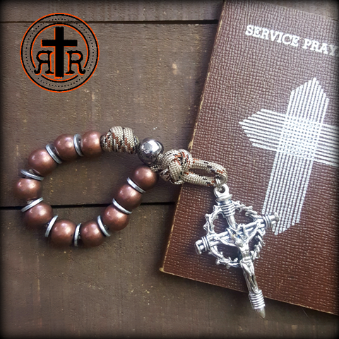 POCKET Sized Rattlesnake Rosary