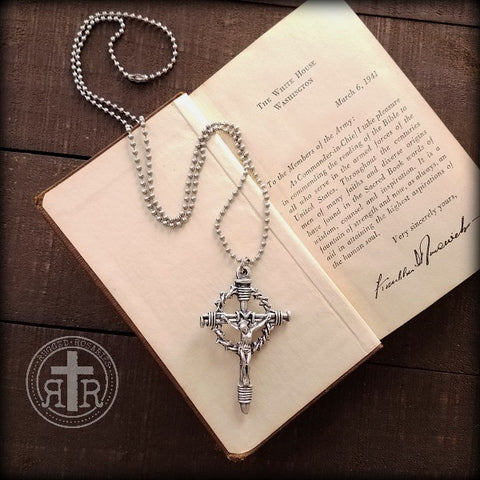 Crown of Thorns Crucifix Pendant