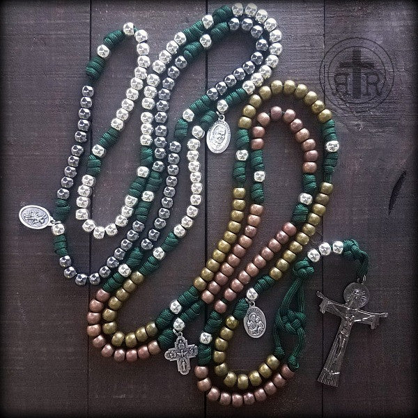 z- Custom 20 Decade Rosary for Scott S