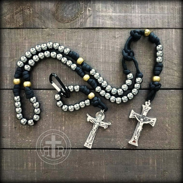 z- Custom Small Pocket Rosary for Steve B