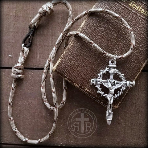 Military Paracord Cross