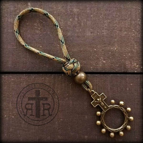 Military Rosary Ring