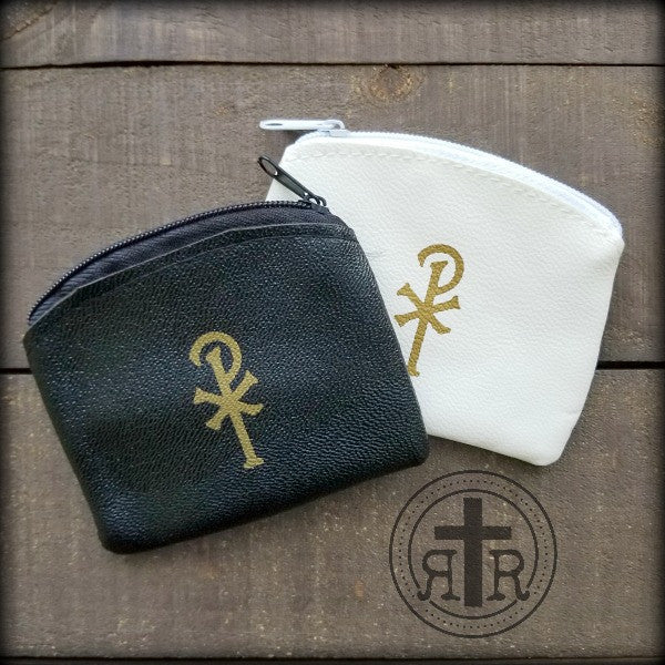 Small Zipper Rosary Pouches