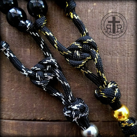Silver and Gold Metallic Rosaries