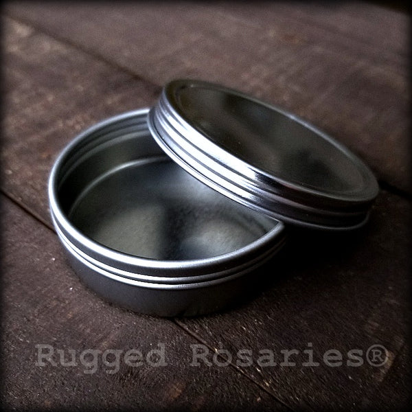 Small Rosary Tin