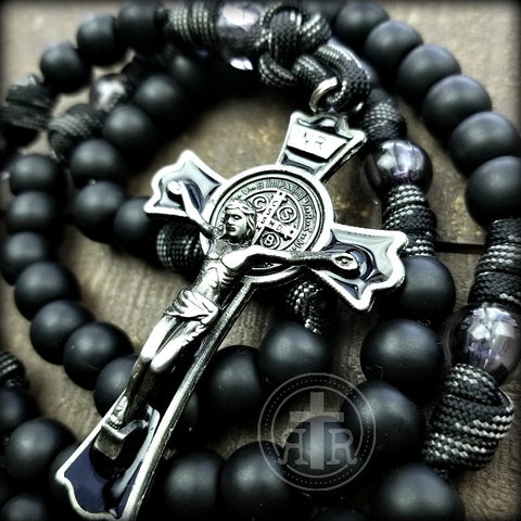 Black Monk Rosary (and a poem)!