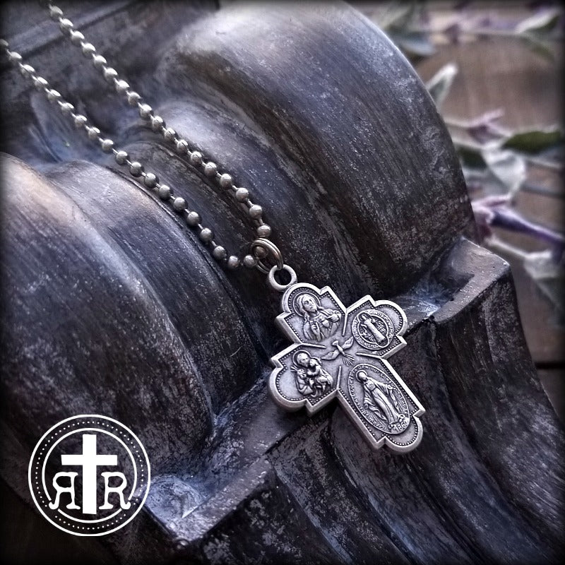 8-Way Spiritually Power Packed Scapular Devotional Necklace