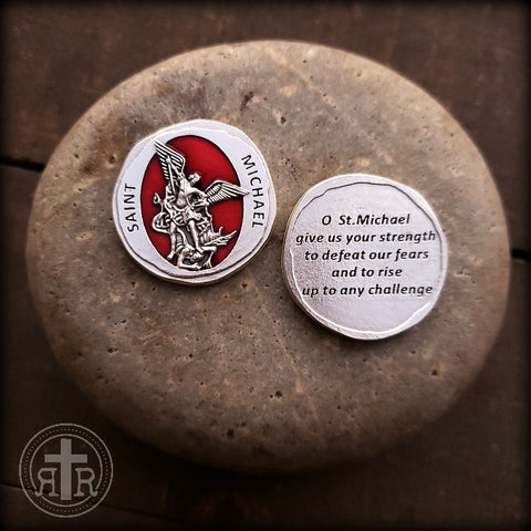 Saint Michael Pocket Coin Token