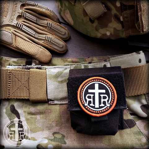 Rugged Rosaries Logo Morale Patch