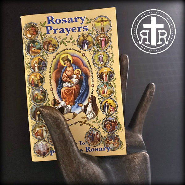 How To Pray The Rosary - Rosary Prayers Booklet