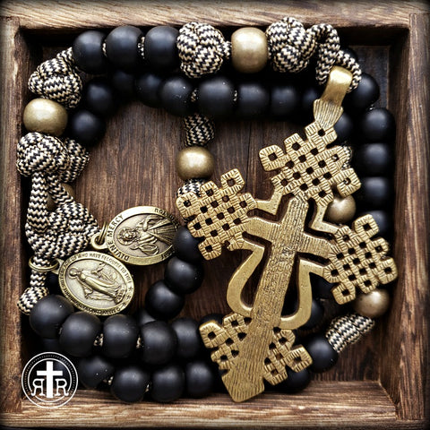 Coptic Style Rosary - Strong - Bold - Rugged - Beautiful