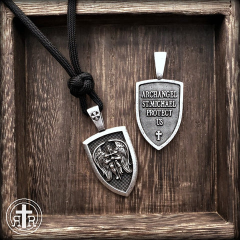 St. Michael Protect Us Pendant