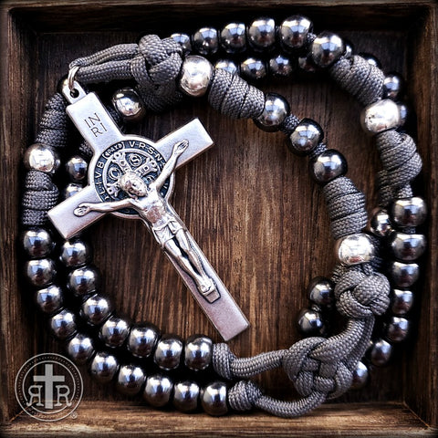 Ashes to Ashes Durable Paracord Rosary