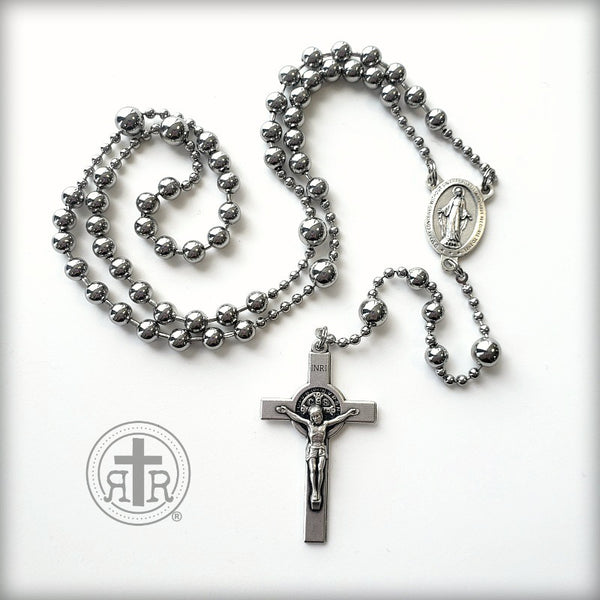 WWI Battle Beads® - St. Benedict Crucifix