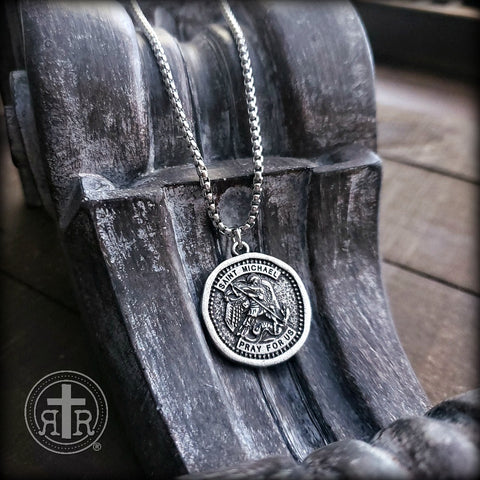 Saint Michael Devotional Necklace