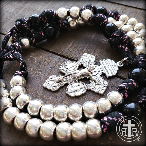 Her Weapon Paracord Rosary