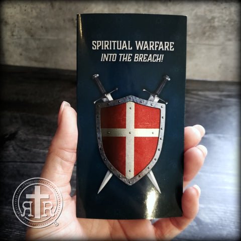 Spiritual Warfare TriFold Prayer Card