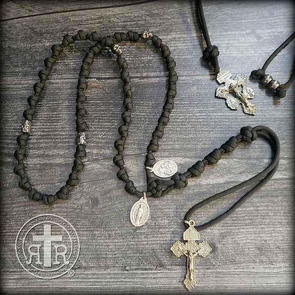 z- custom knotted rosaries for Timothy J