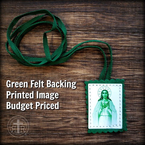 Green Scapular for Cures and Conversions