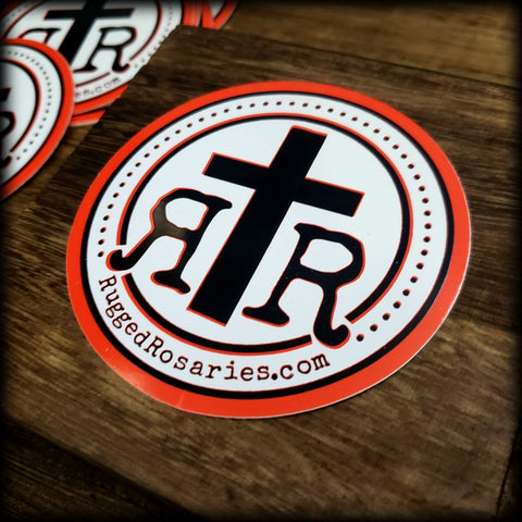 Rugged Rosaries Fan Sticker