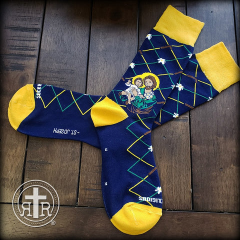 Rugged Socks - Saint Joseph