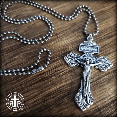 Pardon Crucifix Powerful Protection Pendant