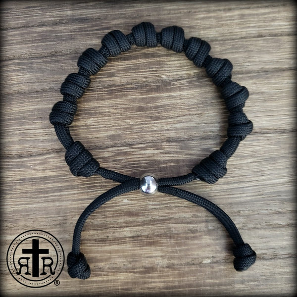 All Knotted Saint Bracelet