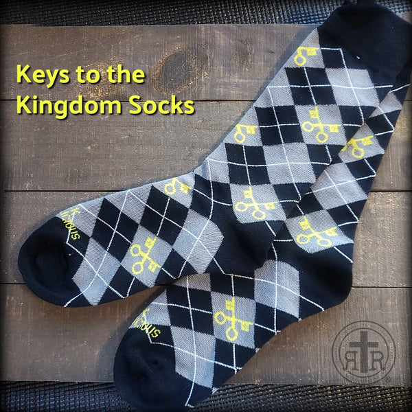 Rugged Socks - Keys to the Kingdom