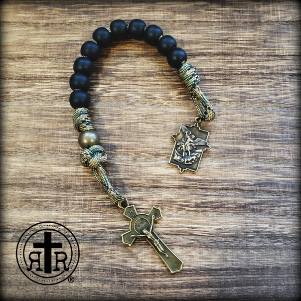 Soldier St. Michael Pocket Rosary