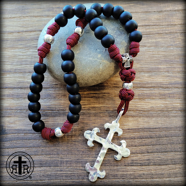 Aglican Rosary - Jesus Prayer - Jesus Prayer Beads - Paracord Episcopal Prayer Beads - Rugged Rosaries - Jesus Rosary