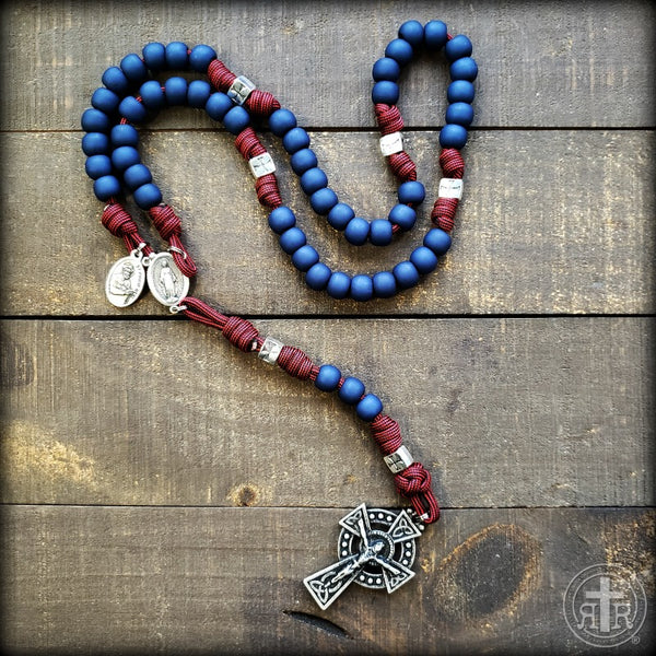 z - Custom Rosary for Adam H.