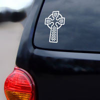 Celtic Cross decal, Catholic decal, Celtic decal, cross decal