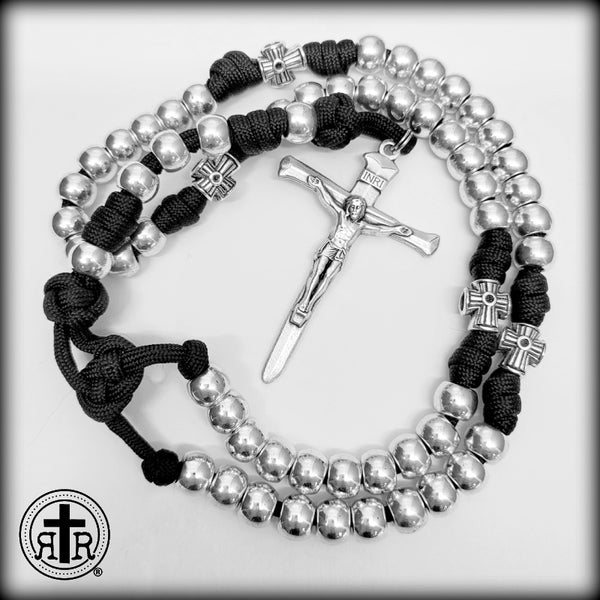 Unbreakable Rugged Rosary for Men, Catholic Gifts, Roman Catholic Gear for Men and Women, Paracord Rosary