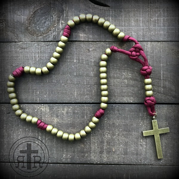 z - Custom Rosary for Ronny T.