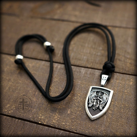 Saint Michael Shield Pendant