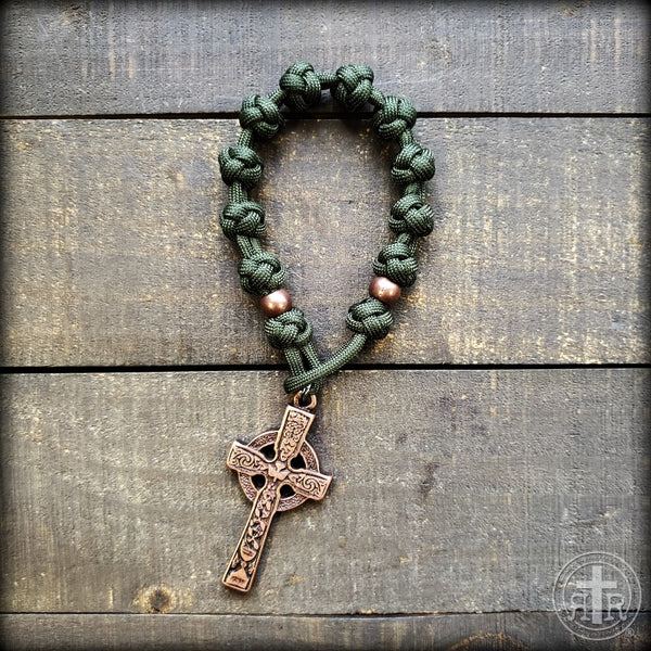 z - Custom Pocket Rosary for Fr. Dan D.