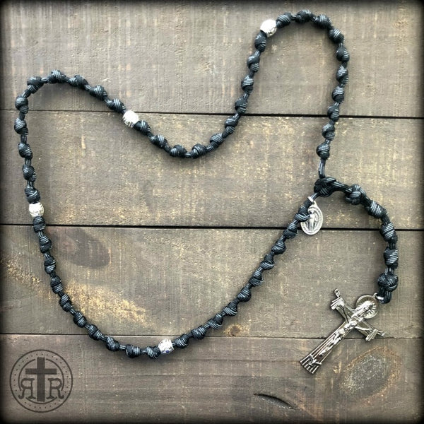 Z - Custom Knotted Rosary for Danielle T.