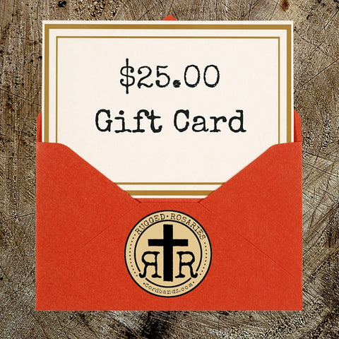 Rugged Rosaries Gift Card