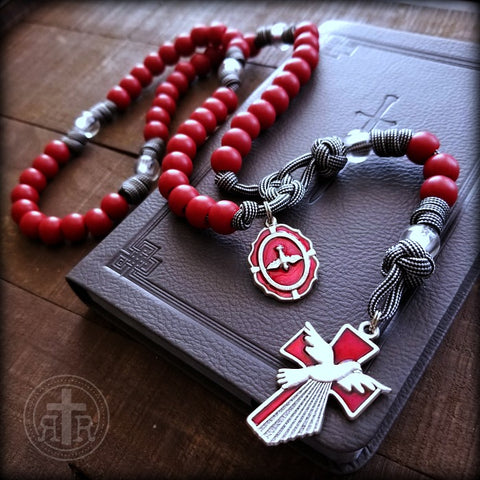 Holy Spirit Paracord Rosary