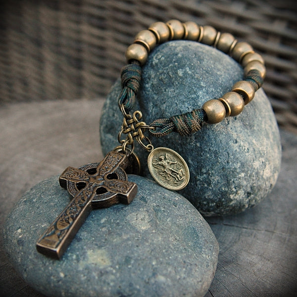y- Samples of Custom Pocket Rosaries