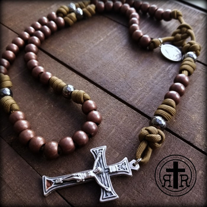 Rugged Rosaries WWI Combat Rosaries Catholic Rosary Beads
