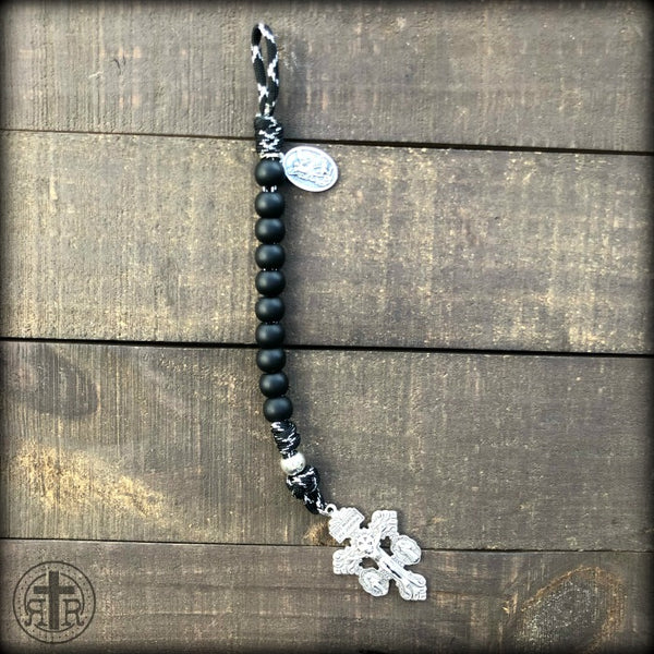 Z - Custom Pocket Rosary for Justin C.