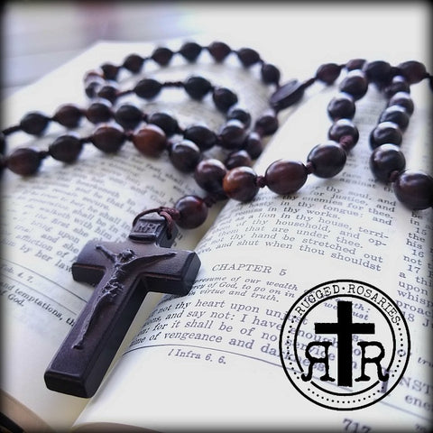 Handmade and Rugged Men's Rosaries