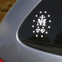 Catholic Decal, Miraculous Decal
