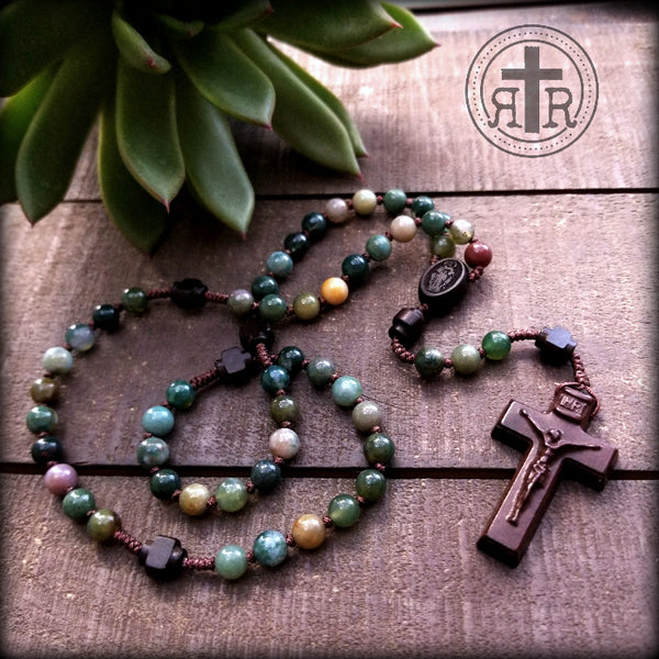 Peace be With You Rosary - 2 Sizes