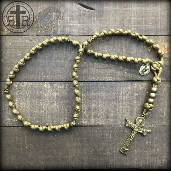 z - Custom Knotted Rosary for Robert H.